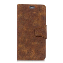 MOONMINI PU Leather Phone Case Retro Pattern Stand Function Wallet Case Cover with Card Slots for Samsung Galaxy A6 Plus 2018