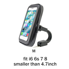 JEREFISH Upgrade Universal Bicycle Motorcycle MTB Bike Phone Holder Waterproof Bag Case Handlebar Mount Holder For iPhone GPS