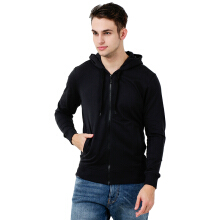 BESUTO Men Zip-Up Hoody (M) - Black