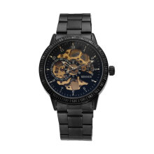 Men Automatic Mechanical Watch Water Resistance Business Wrist Watch H216M Hitam