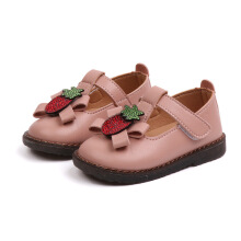 miaolegemi Non-slip children's leather shoes bow girls shoes