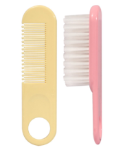 PIGEON Comb and Hair Brush Set - Import