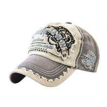 Anamode Animal Cap Embroidery Tiger Baseball Caps Denim Sun Hat Unisex Fashion Letter Hats -
