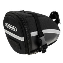 [kingstore] Waterproof Bike Saddle Bag Cycling Seat Pouch Bicycle Tail Rear Storage Bag Black