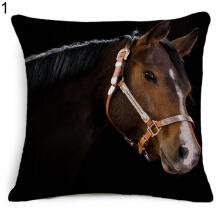 Farfi Animal Horse Pattern Pillow Case Cover Cushion Sofa Throw Pillowcase