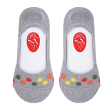 SUNAFIX FCIS 08 AS- Sunafix Invisible Socks Anti Slip - Dark Grey