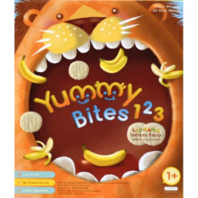 Yummy Bites for Toddler 123 Lionana 12M+ - Banana Flavor