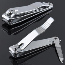 Farfi Stainless Steel Nail Toe Clipper Cutter Trimmer Scissor Manicure Pedicure Tool as the pictures