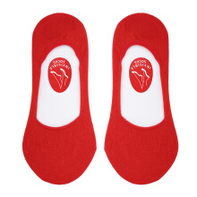 SUNAFIX FCIS 03 AS- Sunafix Invisible Socks Anti Slip - Red