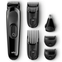 Braun Multi Grooming Kit MGK3020 – 6-in-1 Hair / Beard Trimmer for Men, Face and Head Trimming