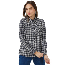 MOUTLEY Ladies Shirt 0310 [M03101721 ] - Blue