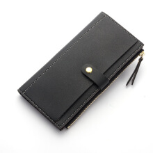Jantens Luxury Brand Women Wallets Fashion Hasp Leather Wallet Female Purse