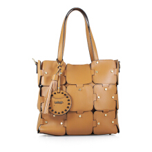 Bellagio Peony-846 Scatola Shoulder Bag Brown