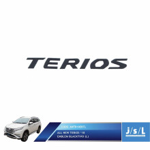 JSL Hood Emblem All New Terios 2018 Large Blacktivo
