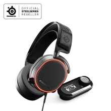 Steelseries Arctis Pro RGB + GameDAC Headset Gaming Free Carrying Bag + Headband