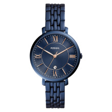Fossil ES4094 Jacqueline Navy Blue Dial Stainless Steel Ladies Watch [ES4094]