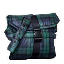 PUMA Fenty Envelope Bag  - Evening Blue-Scarab-plaid [One Size] 07533701