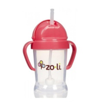 Zoli Bot Straw Sippy Cup - Pink [6oz]