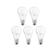 OSRAM Lampu LED Bulb 9W - Cool Day Light/Putih (Isi 5 PCS)