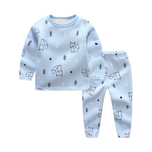 YU MEIL Children's pajamas in autumn and winter(boys+gilrs)1 Suit