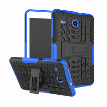 RockWolf Samsung Tab E 8.0 2017/T377/T378 case TPU anti-fall colorful back clip bracket flat shell