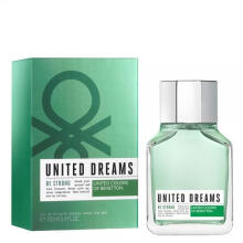 Benetton United Dream Be Strong for Men EDT Parfum Pria [100 mL]