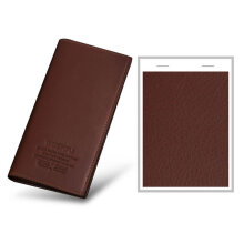 [LESHP]Men Long Wallet Soft PU Leather Multi-Card Slots Credit Cards Holder Coffee