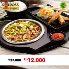 Gokana Ramen & Teppan - Chicken Ebimaki + Nasi (Value Rp 27.000)