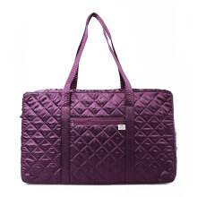 Naraya Small Luggage Satin Quilted NBS-110B / L No.179 Purple