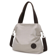 SiYing Korean version of canvas bag simple shoulder bag diagonal bag handbag