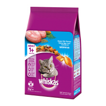 Whiskas Adult Ocean Fish 3 Kg Makanan Kucing Whiskas Dry Food 3 Kg Ocean