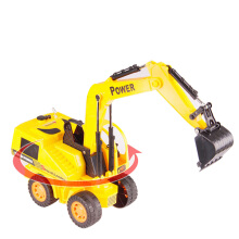 SiYing Simulation electric universal excavator children's toy set yellow