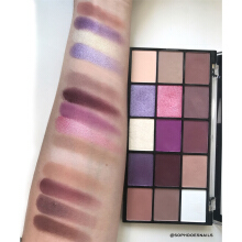 Makeup Revolution Re-Loaded Palette Visionary-Purple Purple - Yellow