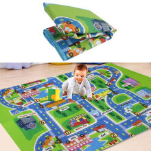 [OUTAD] For Kid Play Toy Creeping Mat Children in Developing Carpet Baby In Foam Rug multicolor 130*160*0.5cm