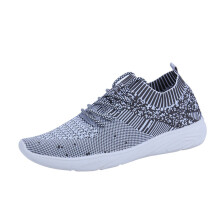 BESSKY Men Fashion Solid Mesh Sewing Cross Tied Flat Gym Shoes Casual Running Shoes _