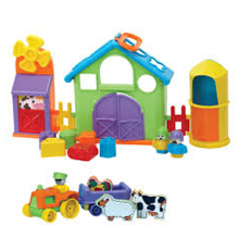 FunTime Farmyard Activity Play Set Color Full Age 1YR+