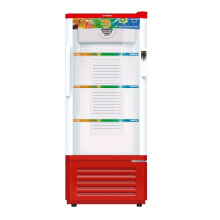 [free ongkir]Sanken SRS-228-MR Display Cooler Showcase 220L - Merah