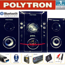 POLYTRON MULTIMEDIA Bluetooth Pma 9503-hitam