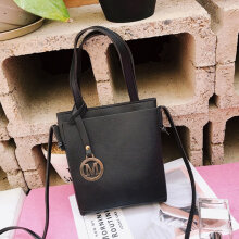 [LESHP]Fashion PU Crossbody Bags Girl Women with Adjustable Shoulder Strap Casual Bag Black