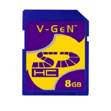V-Gen SD Card 8GB 8G