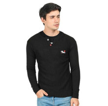 CBR SIX - SWEATER PRIA KASUAL - NNC 439 - HITAM SIZE- ALL