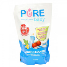 [free ongkir]Pure Baby Liquid Cleanser 700ml Refill - 1 Pack