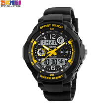 SKMEI Jam Tangan Pria Digital 0931 Yellow Water Resistant 50M