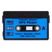 Stylish Cassette Style Portable MP3 Music Player with TF Card Slot