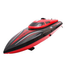 COZIME TKKJ H101 2.4G 30KM/H RC Racing Boat Self Righting Flip 150M Electric Ship RTR Red