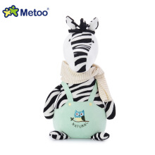 Metoo Kawaii Plush Stuffed Animal Cartoon Kids Toys zebra