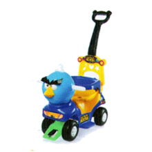 ALLUNID Ride On Angry Bird Characters CB 610 - Multicolor
