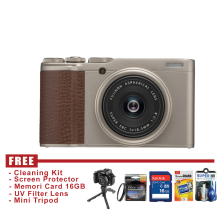 FUJIFILM XF10 - GOLD - FREE ACCESSORIES