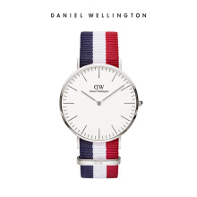 Daniel Wellington Classic Nato Watch Cambridge Eggshell White 40mm