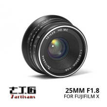 7Artisans 25mm F/1.8 For Fujifilm X-Mount Series Black